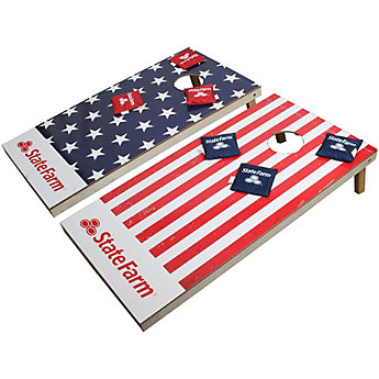 State Farm XL Bean Bag Toss - American Flag