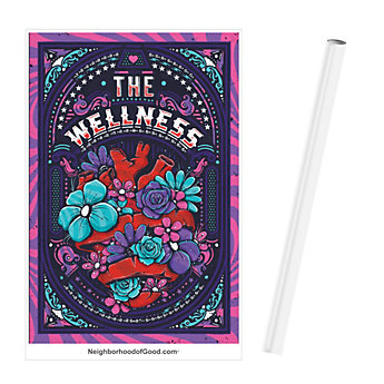Poster 24 in. x 36 in. - Health & Wellness (1PC)