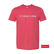 Gildan Softstyle T-Shirt - Turn Caring in to Doing (1PC)