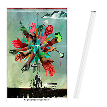 Poster 24 in. x 36 in. - Homelessness (1PC)