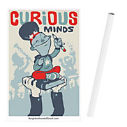 Poster 24 in. x 36 in. - Curious (1PC)