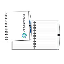 Spiral Hardcover Pen Journal - 7 in. x 9 in.