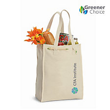 Recycled Cotton Market Tote Bag - 11 in. x 15.5 in. x 6 in.