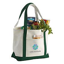 Premium Cotton Canvas Boat Tote Bag - 18 oz.