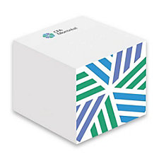 Adhesive Note Cube - 3 in. x 3 in. x 2.25 in. - 550 Sheets - CFA Montreal