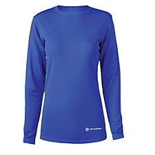 Ladies Microfiber Performance Long Sleeve T-Shirt