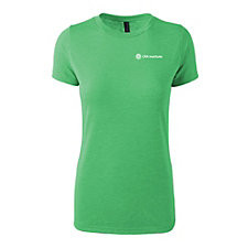 Ladies Short Sleeve Tri-Blend T-Shirt
