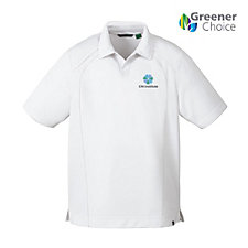 Ash City Recycled Polyester Performance Pique Polo Shirt