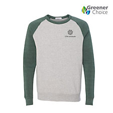 Alternative Eco-Fleece Color-Block Crewneck Sweatshirt