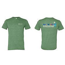 Alternative Eco Crew T-Shirt - Measuring Up
