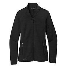 Ladies Eddie Bauer Sweater Fleece Full-Zip Jacket