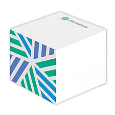 Adhesive Note Cube - 3 in. x 3 in. x 2.25 in. - 550 Sheets (LowMin)