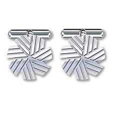 Sterling Silver CFA Cufflinks - 0.75 in. - (1PC)
