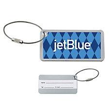 Compact Luggage Tag - 3.2 in. x 1.7 in. x .2 in.
