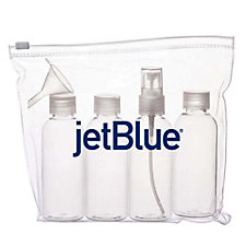 Carry-On Travel Bottle Kit -7 in. H x 7 in. W