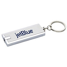 Rectangular Key-Light Key Chain