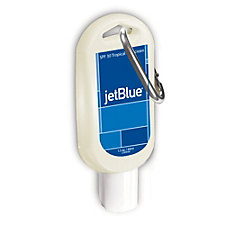 SPF 30 Sunscreen Tottle with Carabineer