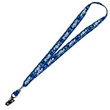 Heavy Weight Satin Lanyard - 1 in. x 34 in.