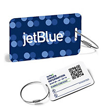 RuMe ID Luggage Tag Set of 2 - 3.5 in. x 2 in.