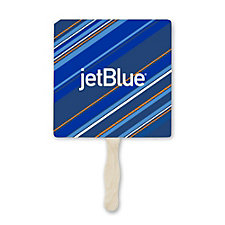 Full Color Hand Fan - 8 in.