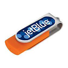 Domeable Rotate Flash Drive - 4 GB