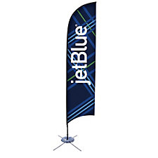 Razor Sail Sign Single Sided Banner Kit - 12.75 ft.