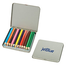 Colored Pencil Tin - 12 pc.