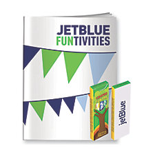 JetBlue Coloring Book with Crayons