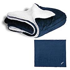 Liberty Bags Micro Mink Sherpa Blanket