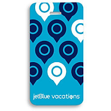 PVC Luggage Tag - JetBlue Vacations