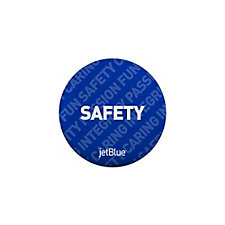 Round Safety Button - 1.25 in. - Values