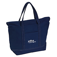 Rock the Boat Solid Colored Tote - 20 in. x 12.5 in. x 7.5 in. - JetBlue Vacations