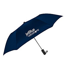 Promo Folding Umbrella - 42 in. Arc - JetBlue Vacations