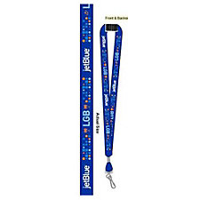 Heavy Weight Satin Lanyard - 0.75 in. - LGB Airport Design