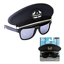 Sun-Staches Pilot Hat