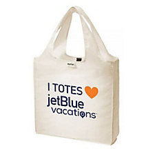 RuMe Classic Medium Tote - I TOTES Love JetBlue Vacations