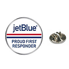 Lapel Pin - 1 in. - JetBlue Proud First Responder