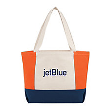 Nantucket Cotton Canvas Boat Tote - 16 oz.