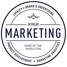 Clear Vinyl Sticker - 2 in. - JetBlue Marketing