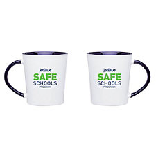 Emma Stoneware Ceramic Mug - 14 oz. - JetBlue Safe Schools Program