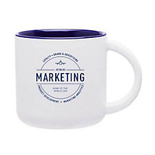 Minolo Ceramic Mug - 14 oz. - JetBlue Marketing Team