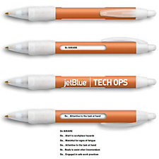 BIC WideBody Message Plastic Pen - JetBlue / Tech Ops