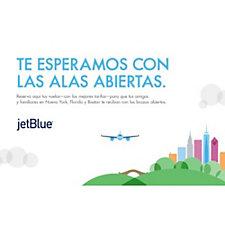 JetBlue Poster - 24 in. x 36 in.
