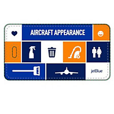 PVC Luggage Tag - 2.25 in. x 4.25 in. - Aircraft Appearance