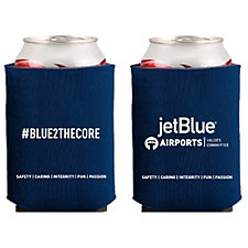 Collapsible Foam Can Holder - Blue 2 the Core