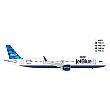 A321 Neo Mint Livery Model Plane - 1:100 - Name the Plane
