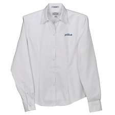 Ladies Eagle No-Iron Pinpoint Oxford Shirt