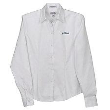 Ladies Eagle No-Iron Pinpoint Oxford Shirt