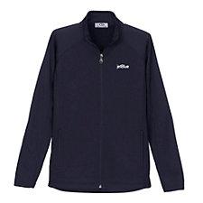 Ladies Brushed Back Micro-Fleece Full-Zip Jacket