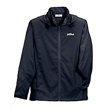 Women's Full-Zip Lightweight Hooded Jacket
